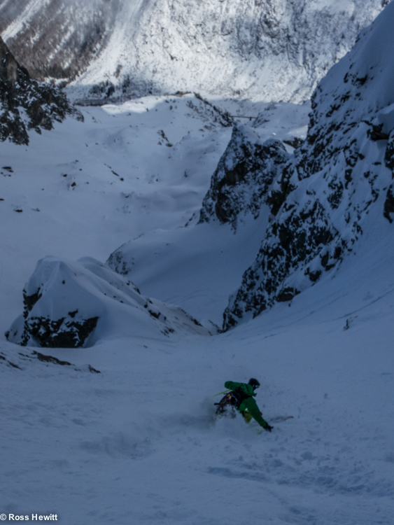 Encrenaz North Couloir-7