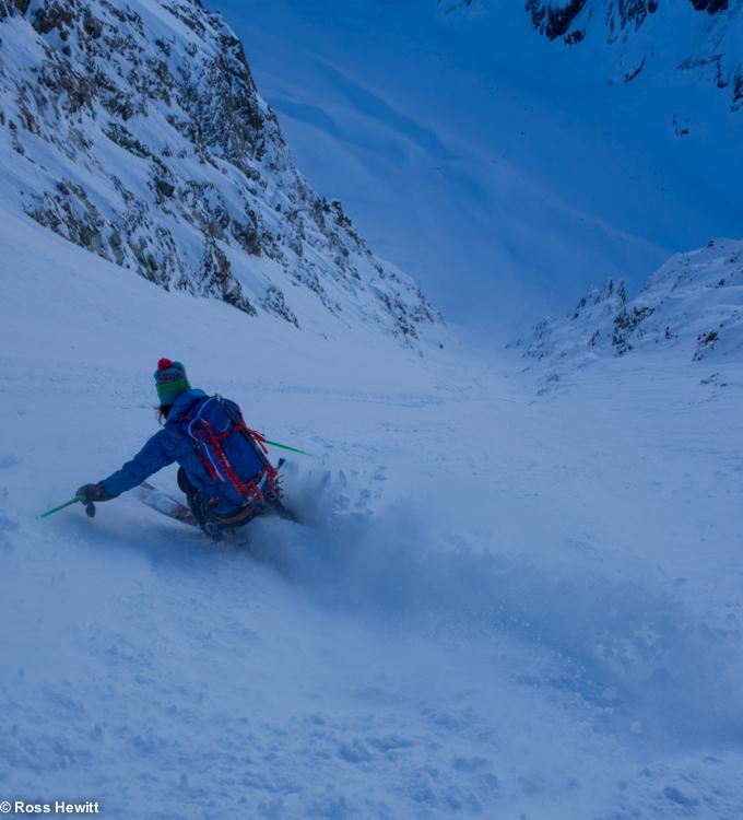 NE Couloir Petit Mt Blanc-8