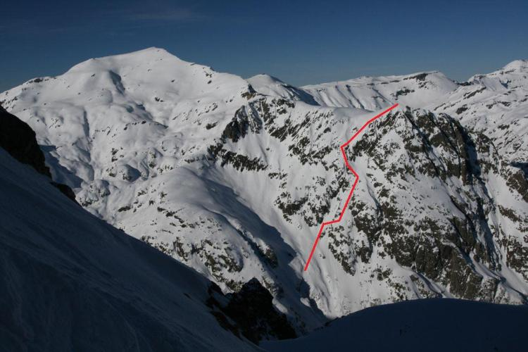 South Face of Mont Oreb