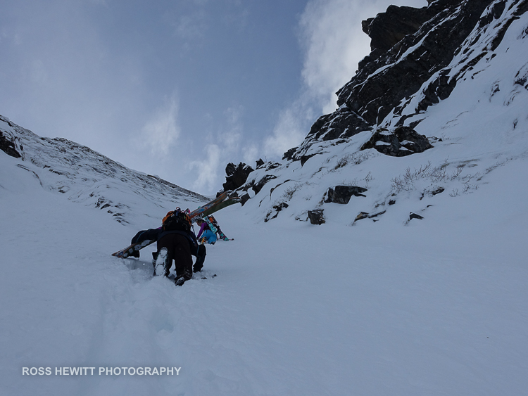Lofoten Skiing Ross Hewitt Michelle Blaydon-16