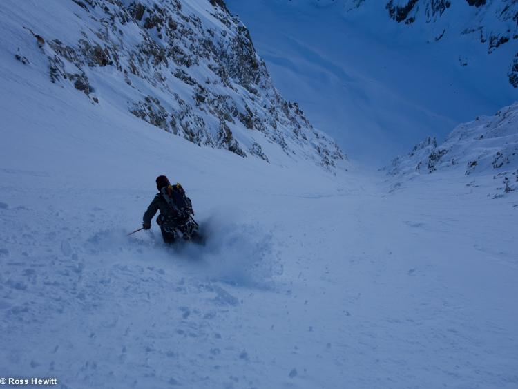 NE Couloir Petit Mt Blanc-6