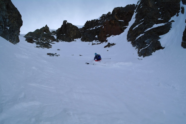 Aiguille Rouge Couloirs 10