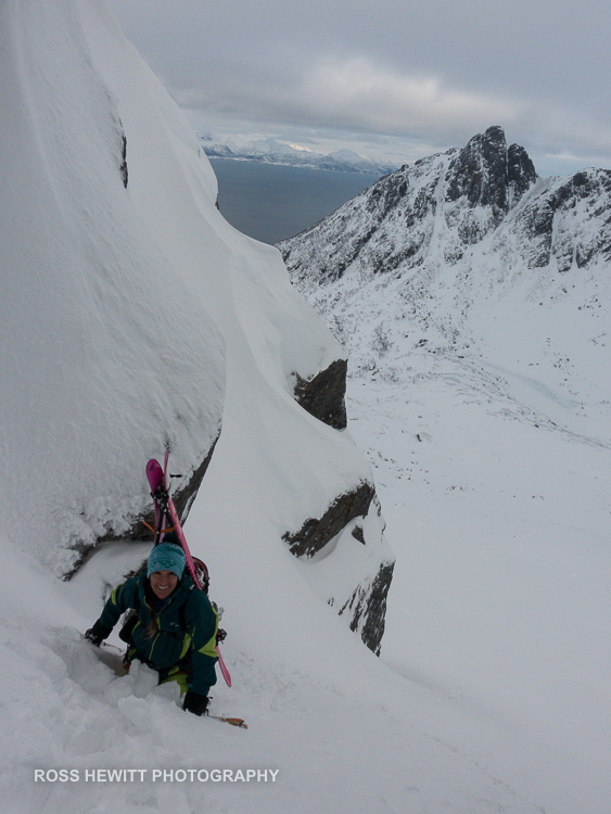 Lofoten Skiing Ross Hewitt Michelle Blaydon-37