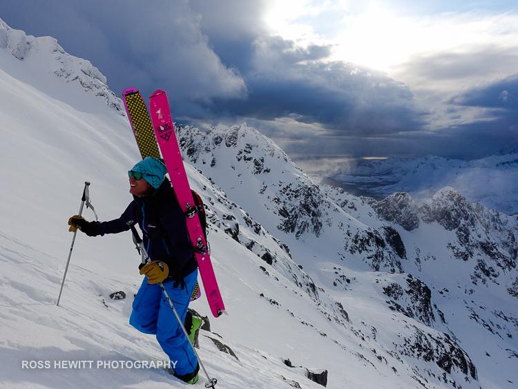 Lofoten Skiing Ross Hewitt Michelle Blaydon-10