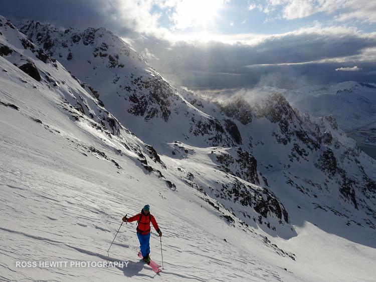 Lofoten Skiing Ross Hewitt Michelle Blaydon-4