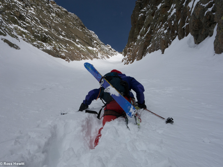 Encrenaz North Couloir