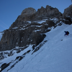 Dave Searle, Doigts North Couloir
