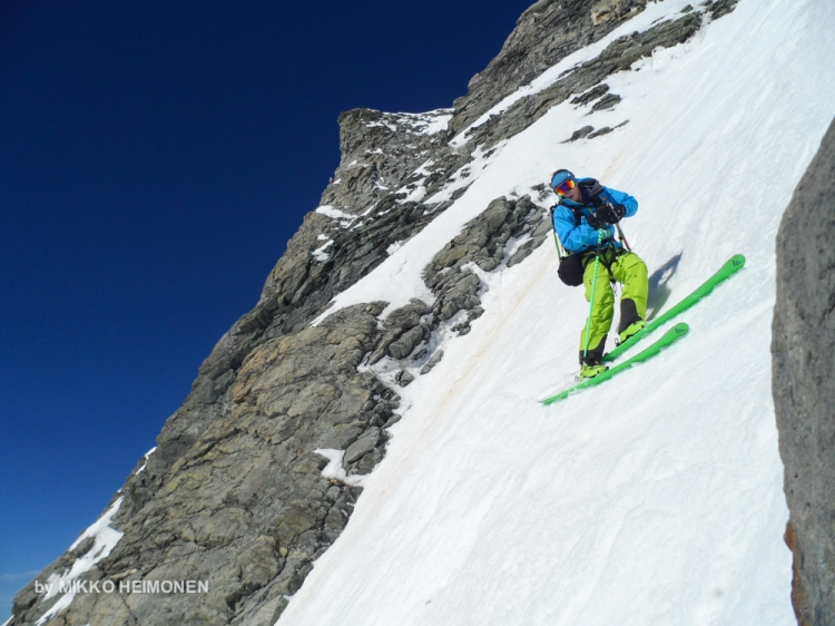 Matterhorn Cervin East Face Ski  Ross Hewitt-2