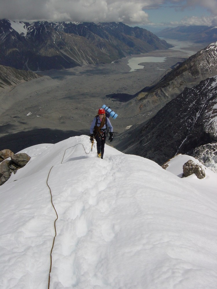 Di Haast Ridge 1
