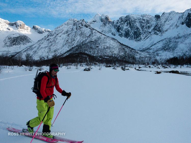 Lofoten Skiing Ross Hewitt Michelle Blaydon-93