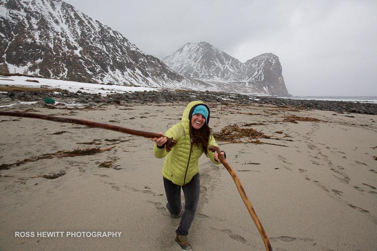 Lofoten Skiing Ross Hewitt Michelle Blaydon-117