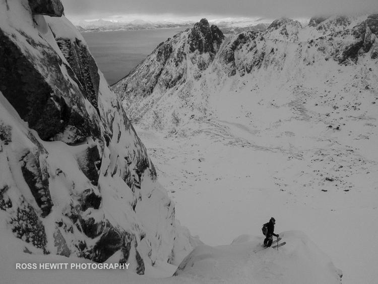 Lofoten Skiing Ross Hewitt Michelle Blaydon-42