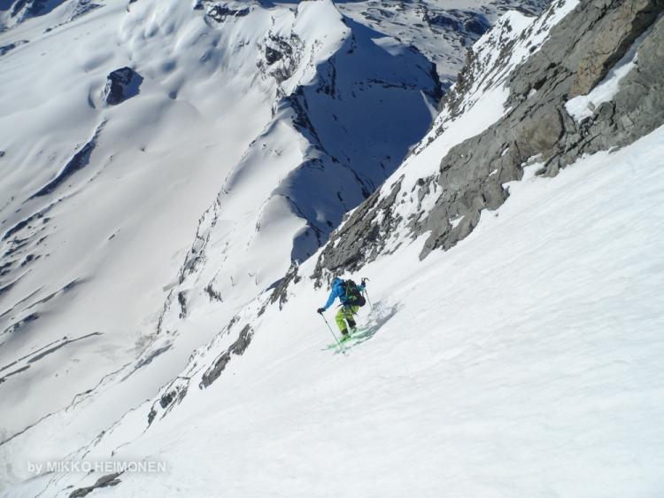 Matterhorn Cervin East Face Ski  Ross Hewitt-1-3