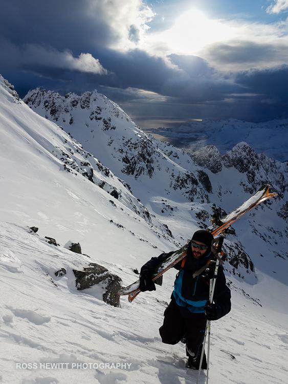 Lofoten Skiing Ross Hewitt Michelle Blaydon-8