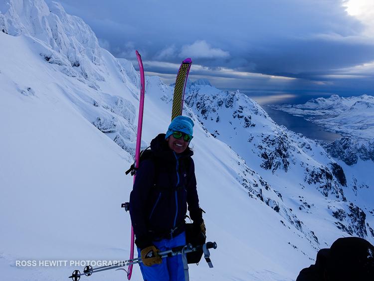 Lofoten Skiing Ross Hewitt Michelle Blaydon-14