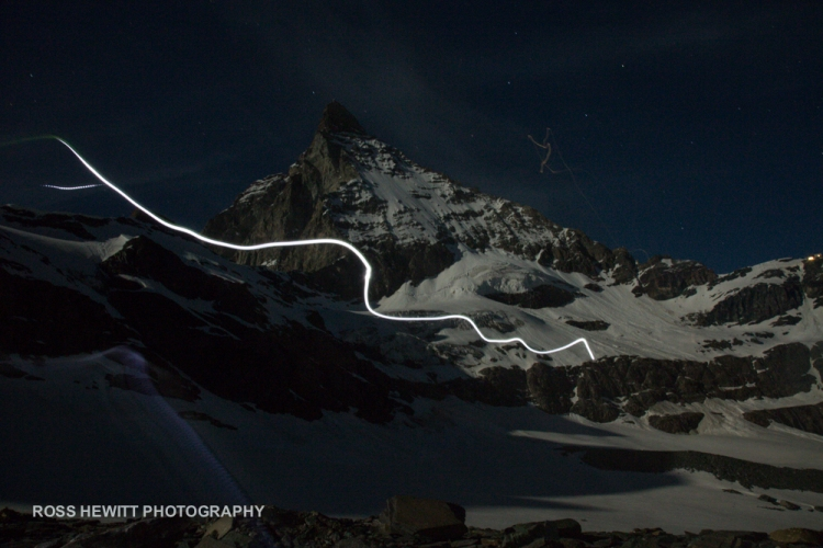 Matterhorn Moon Light Ross Hewitt-1