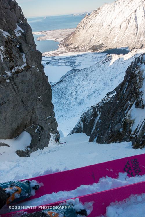 Lofoten Skiing Ross Hewitt Michelle Blaydon-85