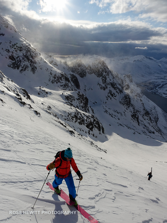 Lofoten Skiing Ross Hewitt Michelle Blaydon-5