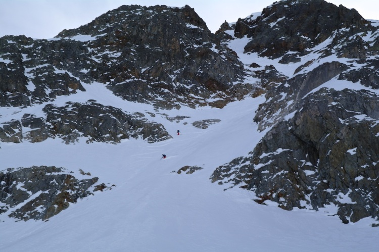 Aiguille Rouge Couloirs 14