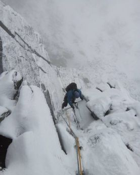 beinn eighe west buttress