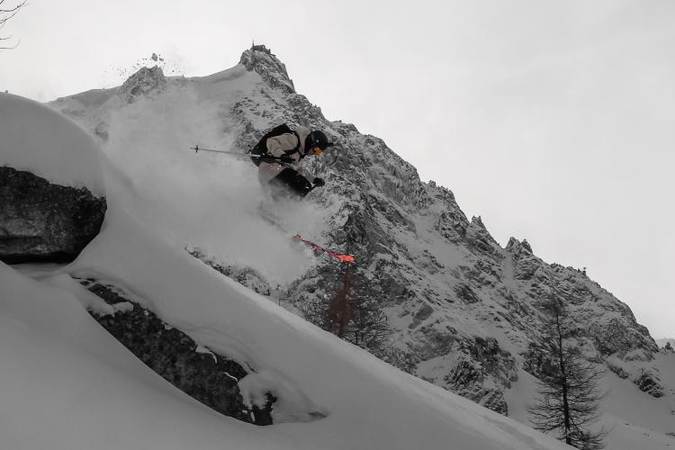 Ross Hewitt enjoying deep january powder days