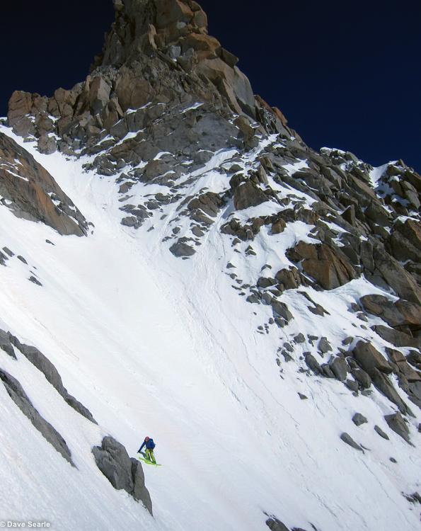 Chamonix skiing 2014-5-2