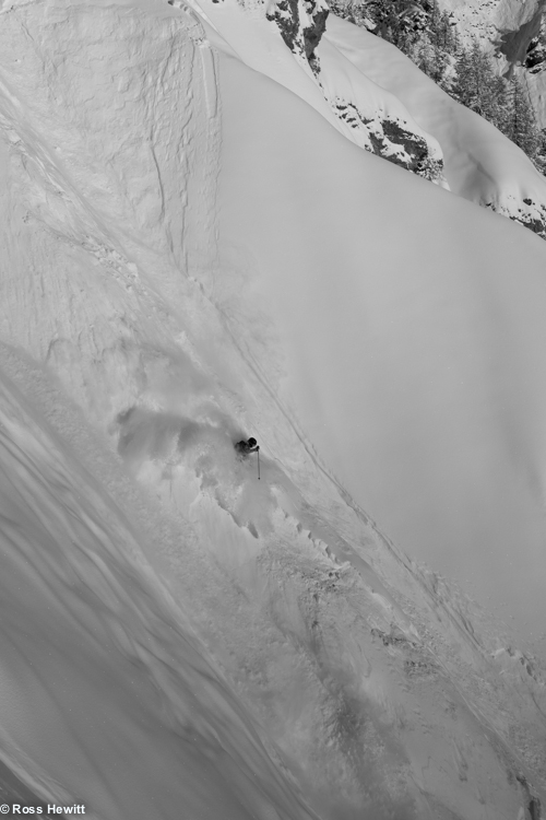 Davide de Masi riding spines-helbronner 2