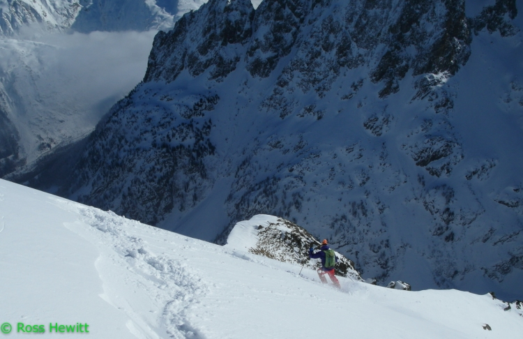 Mont Oreb South face Dave Searle 1