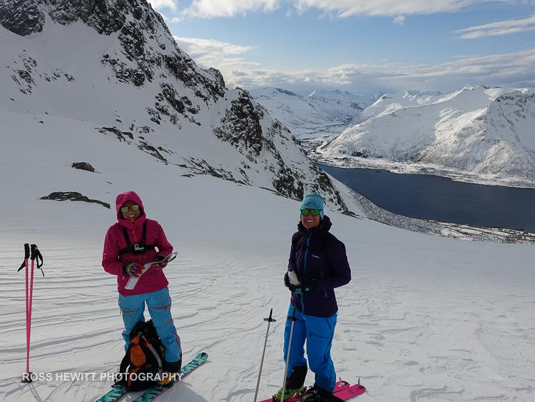 Lofoten Skiing Ross Hewitt Michelle Blaydon-1