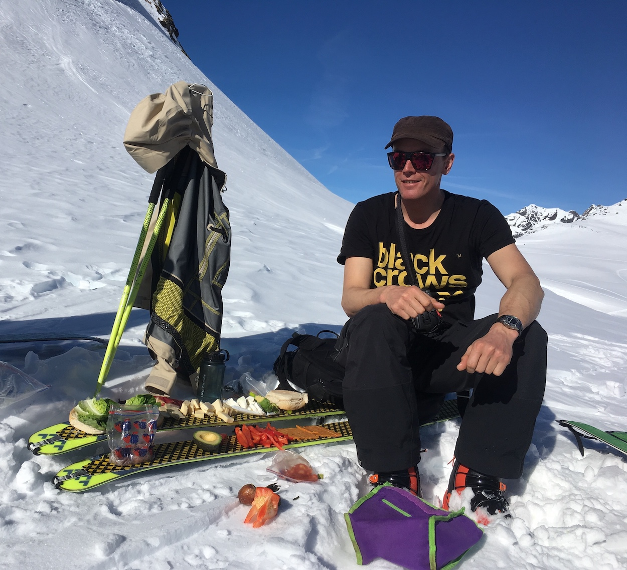 backcountry picnics in Sainte Foy