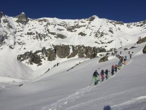 La Sentinelle ski meet Chamonix