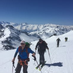 touring in the Vanoise