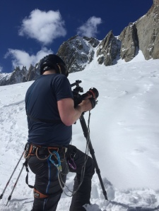 safety and skier for a British independent fictional film