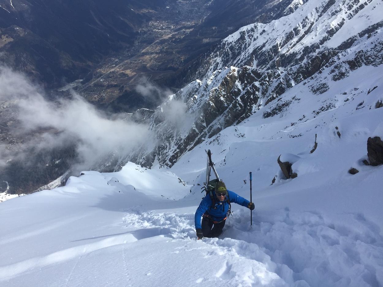 bespoke ski guiding for an Australian based client