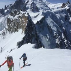 steep camp for 2 British clients looking for the magic